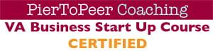 VA Business Start Up Course Certification Buttton